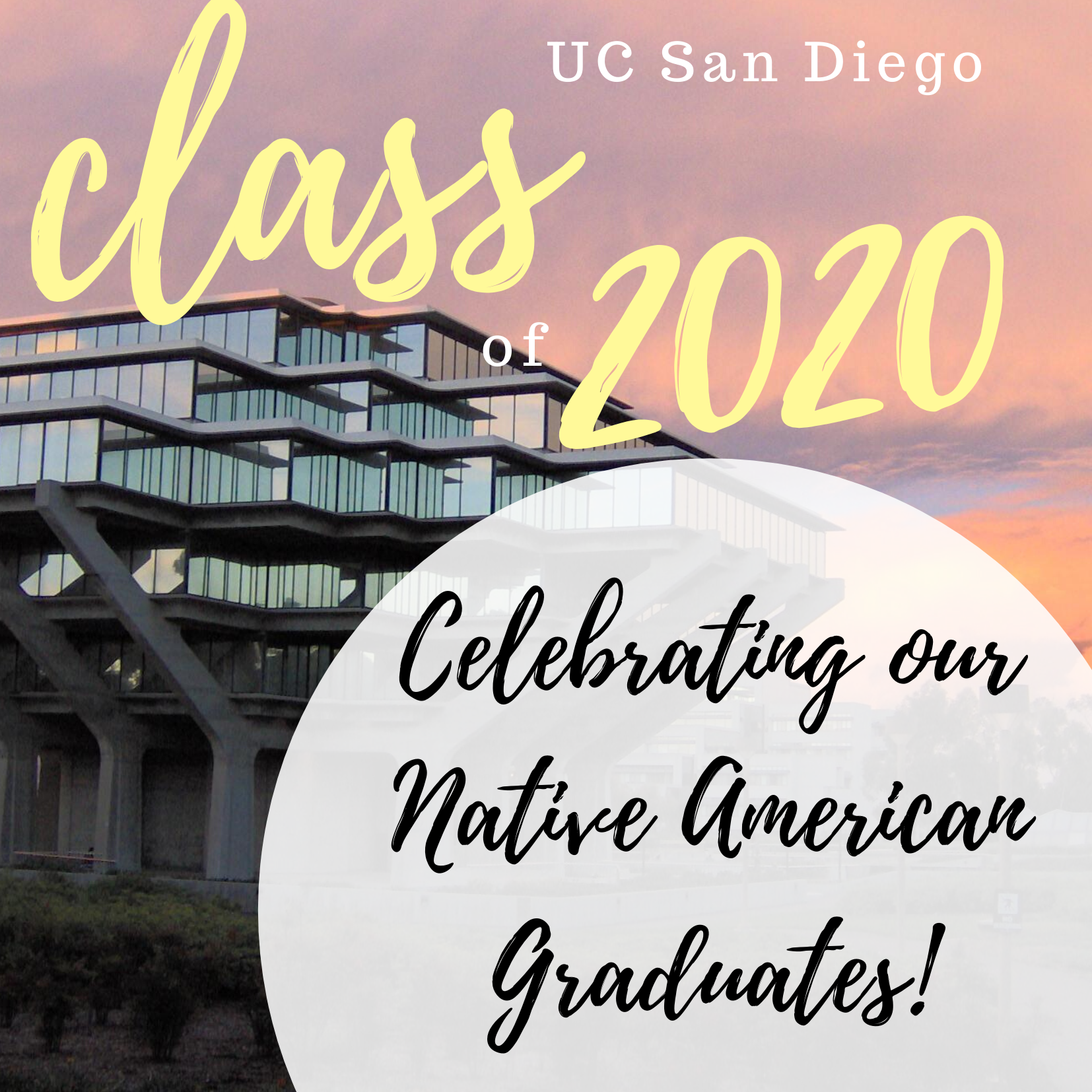Honoring our 2020 Native American Graduates